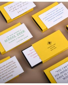 Matchbox Collector's Pack: Motivational Quotes